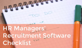 HR Managers' Recruitment Software Checklist