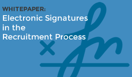 Electronic Signatures in Recruitment