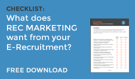What do Recruitment Marketers need in an E-Recruitment platform?