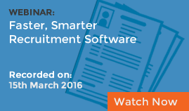 Faster, Smarter Recruitment Software