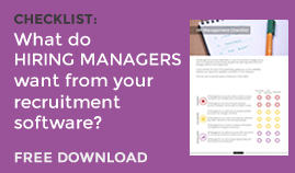 What do your HIRING MANAGERS need?