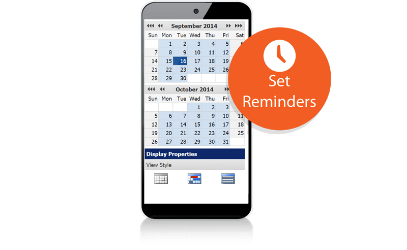 Set reminders with Actions