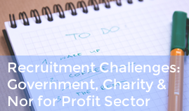 Industry Insights: Recruitment Software For Government, Charity and Not for Profit Sector