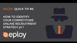 How to identify your competitors' online recruitment strategy