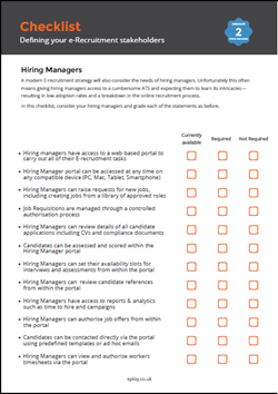 The Definitive Hiring Manager Checklist For An Applicant