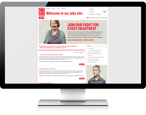 BHF Eploy Powered Careers Site