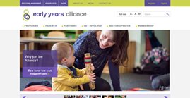 A positive impact on recruiting for Early Years Alliance